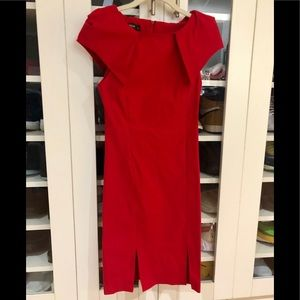 ASOS Vesper double split pencil Dress